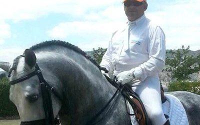José Parras, propietario del Club Hípico El Saytón : «Una buena doma es el principio de todo éxito»