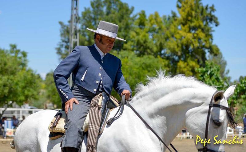 José Parras a la vaquera