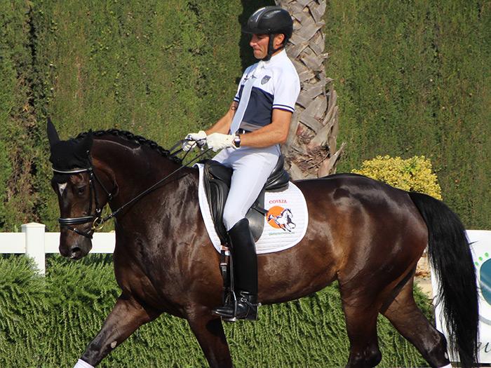 Sergio Martí montando a Dilara- Un binomio campeón