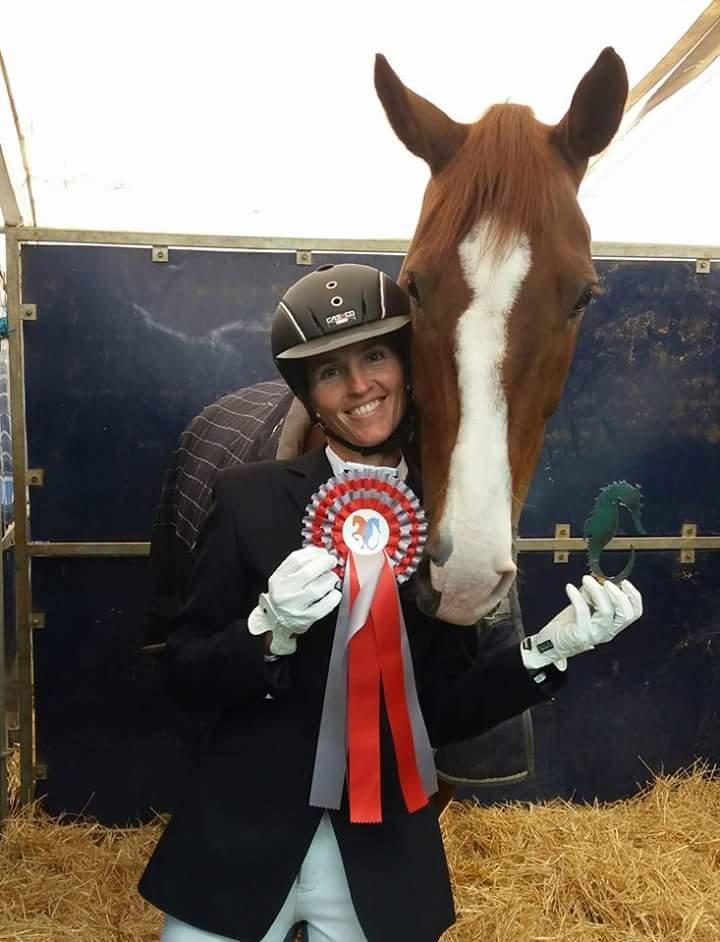 Vanesa y su caballo CE subcampeones de la COPA CLÁSICA y COPA DEL REY 2017
